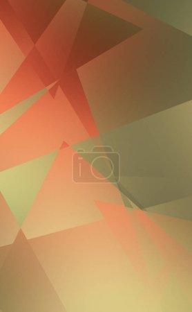 Foto de Ilustración de diseño con formas geométricas. Fondos abstractos con formas triangulares. Papel tapiz gráfico colorido. - Imagen libre de derechos