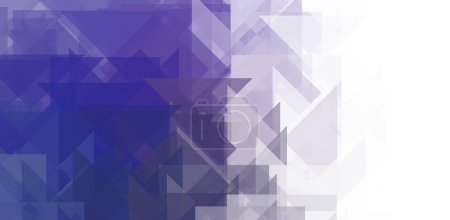 Photo for Overlapping design with triangles background. Abstract geometric wallpaper. Geometrical colorful triangular shapes. - Royalty Free Image