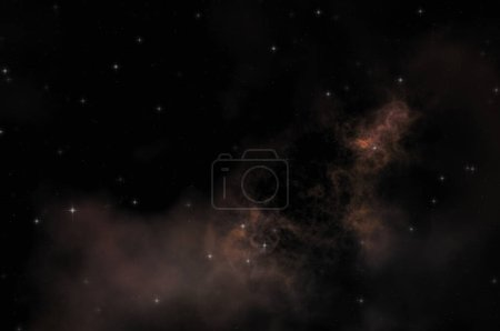 Photo for Star field in galaxy space with colorful nebula. Sci fi background of deep space. Ethereal wallpaper. - Royalty Free Image