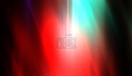 Foto de Vuela luz brillante y colorida. Historia energética vibrante. Rayos de luz con luz etérea. Hermoso papel tapiz. - Imagen libre de derechos