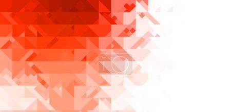 Foto de Diseño de formas intersecantes sobre fondo blanco. Fondo de pantalla minimalista abstracto. Plantilla geométrica colorida . - Imagen libre de derechos