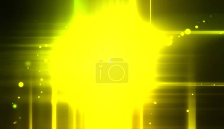Photo for Cool background of vivid and vibrant light flares. Colorful glossy lights display with burst effect. Sparkling multicolored background. - Royalty Free Image