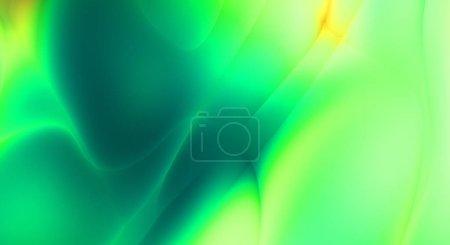 Foto de Fractal fondo bonito. Diseño de lana con formas y líneas de colores. Abstract artistic wallpaper. Impresionante imagen gráfica con un patrón interesante. - Imagen libre de derechos