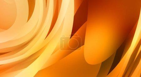 Foto de Fondo abstracto con gradiente colorido. Fondo de pantalla gráfico vibrante con diseño de rayas. Fluido 2D ilustración del movimiento moderno . - Imagen libre de derechos