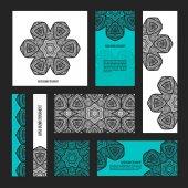 elegant banner template design set