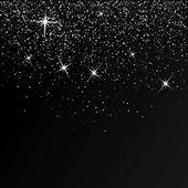 glossy dark template with stars