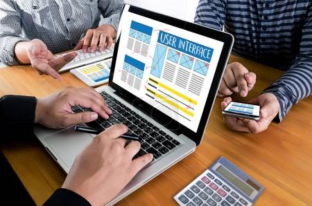 USER INTERFACE Global Address Browser Internet Website Design So
