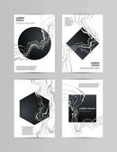 Black marble wall texture and background Abstract Vector Illustration Design Template Modern Pattern