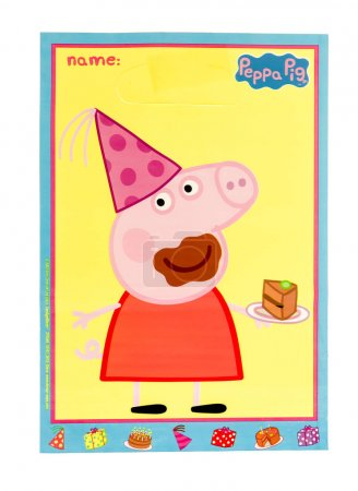 Loot bag of peppa pig
