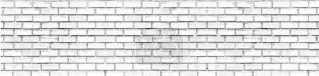 Photo pour Brique blanche, pour le fond . - image libre de droit