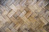 Grunge bamboo weave pattern.