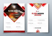 Flyer design Corporate business report cover brochure or flyer design Leaflet presentation Teal Flyer with abstract circle round shapes background Modern poster magazine layout template A4