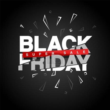 Photo pour Black Friday Design. Illustration vectorielle - image libre de droit