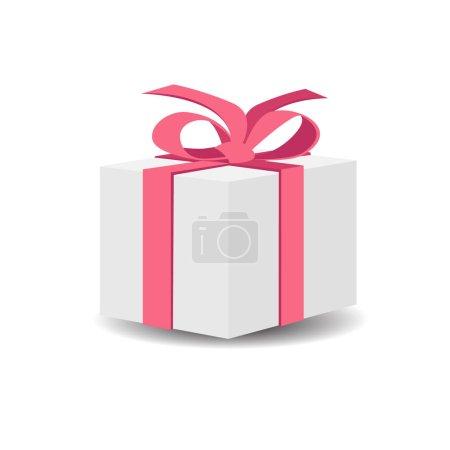 Photo pour Boîte cadeau vectorielle isolée sur blanc - image libre de droit