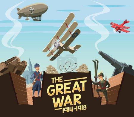 The Great War scene