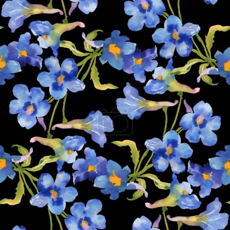fairytale watercolor flowers
