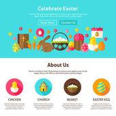Oslavte velikonoční Web Design