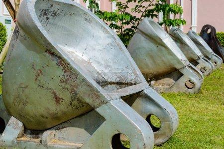 Buckets for of mining operationsNew buckets for of...