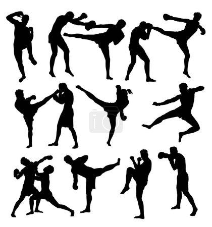 Free Boxing Sport activity, art vector design...