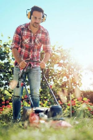 Gardening,close up