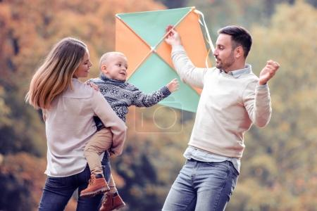 Photo for Family having fun in the park.People,fun,love and happiness concept. - Royalty Free Image