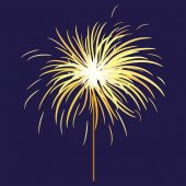 Bengal light sparkler Bengal fire Salute element for celebration of holidays and parties