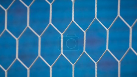 background of soccer net