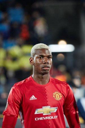 Paul Pogba before match