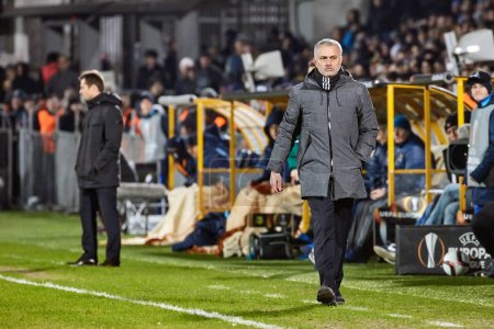 Jose Mourinho coach of FC Manchester United