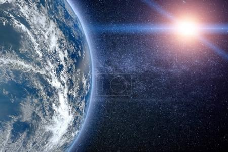 Photo for Planet Earth, view from space (Elements of this image furnished by NASA) - Royalty Free Image