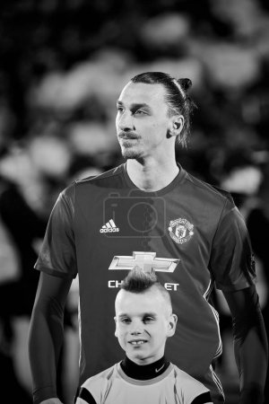 Zlatan Ibrahimovic (Feyenoord) in match 1/8 finals