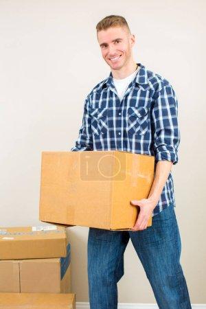 Man moving
