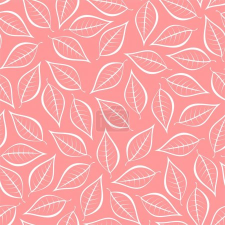 Autumn pink natural background from contours of wh...