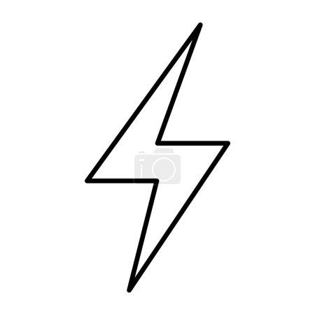 Thin line lightning