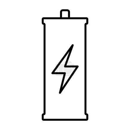 Thin line battery