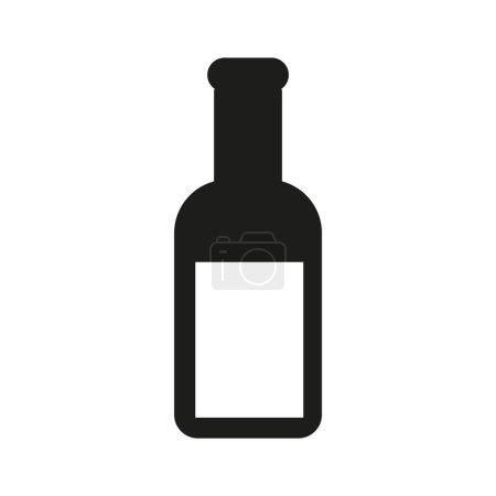 simple bottle icon
