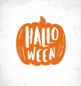 Halloween Design Element for Parties Greeting Cards and Invitations