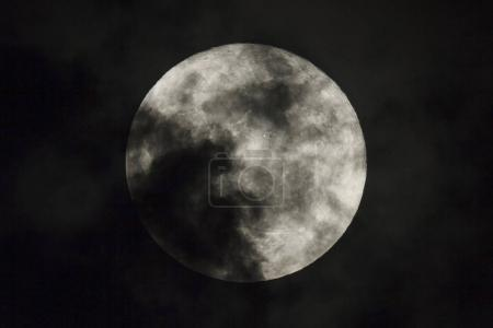 Photo for Full moon on the dark night - Royalty Free Image