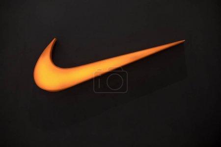Nakhonratchasrima, Thajsko, 16 Listopad 2017: Logo Nike. Nike je g
