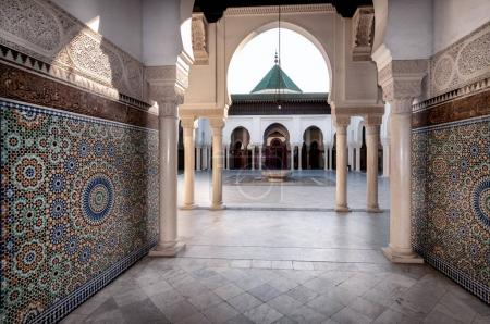 entrance of Grand Mosque