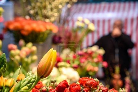 Yellow flower in market