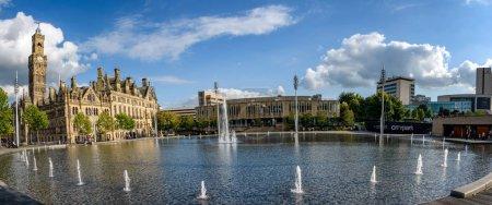 Panoramic view of City Hall
