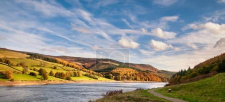 Photo for Panoramic view ofPeak District National Park midlands in England, United Kingdom. - Royalty Free Image