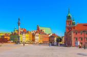 Warsaw, capital of Poland castle square