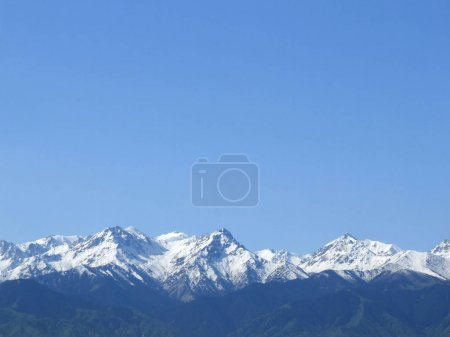 beautiful mountain peaks