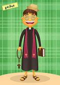 Catholic Priest - Festa Junina brazilian june party