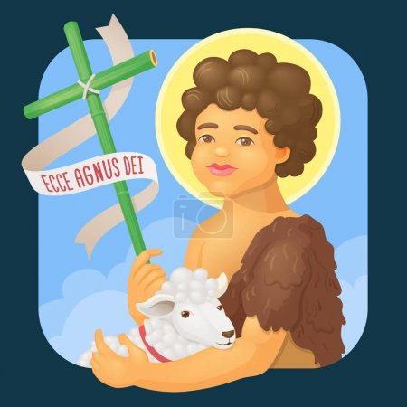 Saint John Baptist, honoured in brazilian june parties