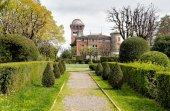 The park at Villa Toeplitz in Varese, Italy