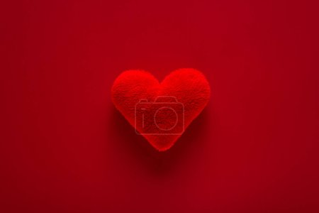 Photo for Beautiful red and  heart for valentine day - Royalty Free Image