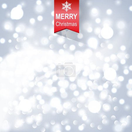 Snowing Blurred background